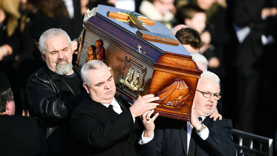Dolores O'Riordan Funeral January 23 2018 - Getty - H 2018