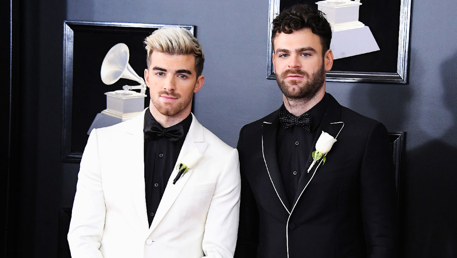 Chainsmokers - 2018 Grammys - Getty - H 2018