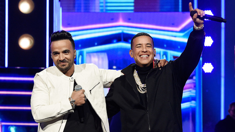 Luis Fonsi and Daddy Yankee - 60th Annual GRAMMY Awards -Getty-H 2018