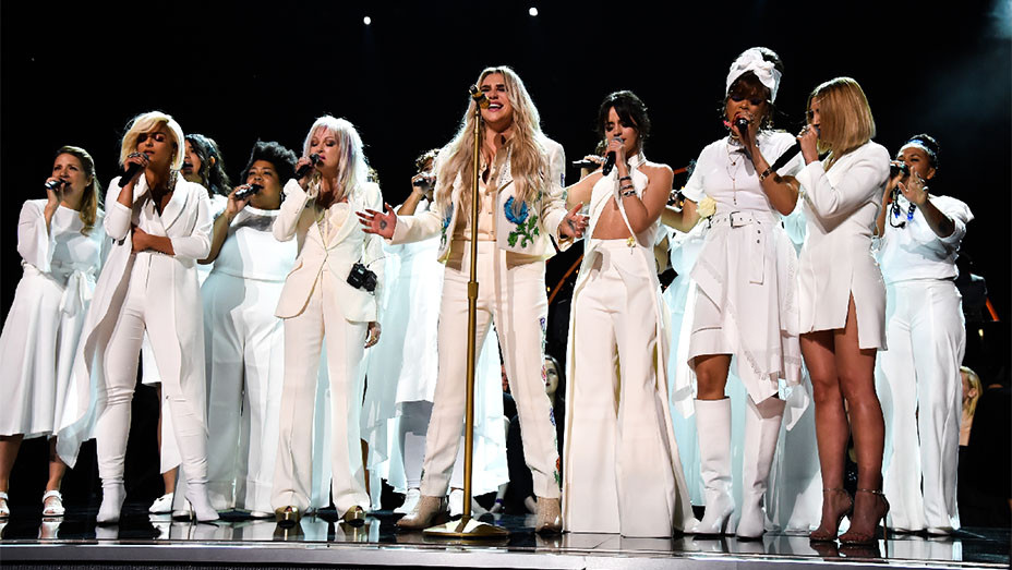 Grammys Kesha Performance - Getty - H 2018