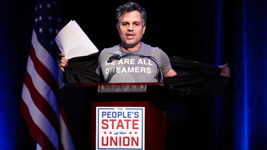 Mark Ruffalo - The People's State of the Union Townhall NYC - Getty - H 2018