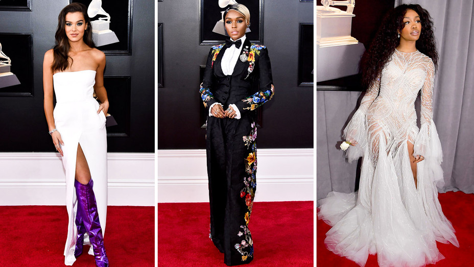 grammys 2018 the top 10 best dressed hollywood reporter grammys 2018 the top 10 best dressed