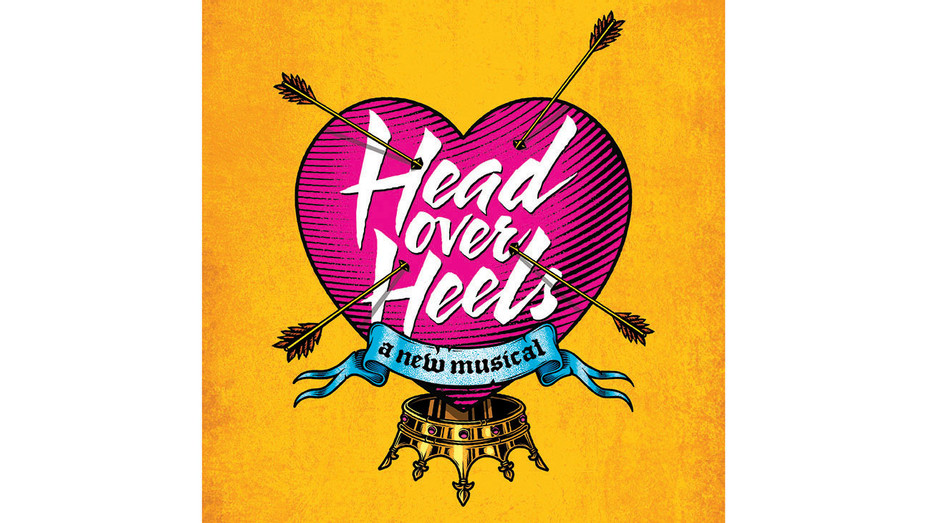Head Over Heels - Art Work -Boneau Bryan-Brown -Publicity - H 2018