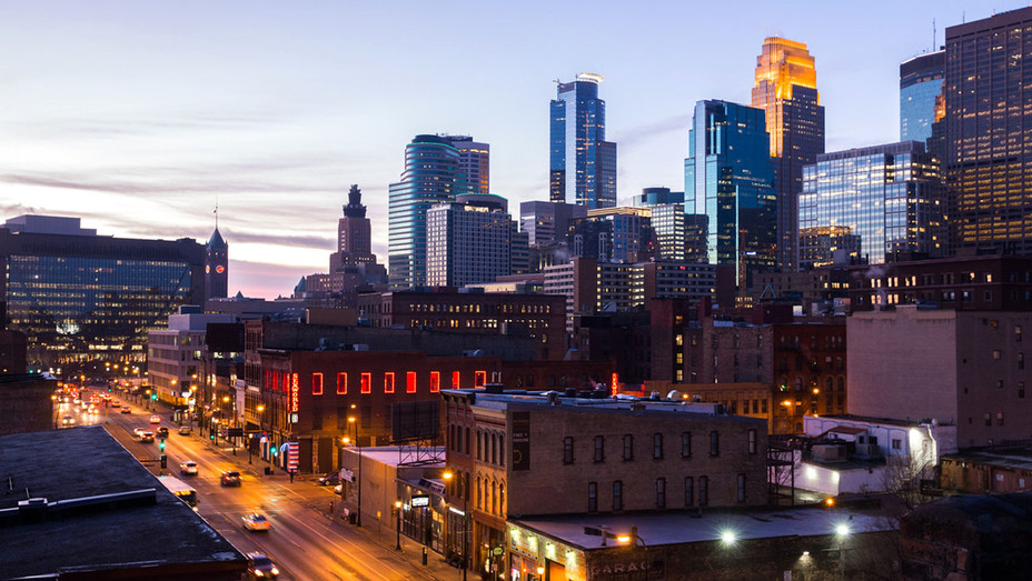 Minneapolis Skyline from the Hewing Hotel - Meet Minneapolis - Publicity-H 2018