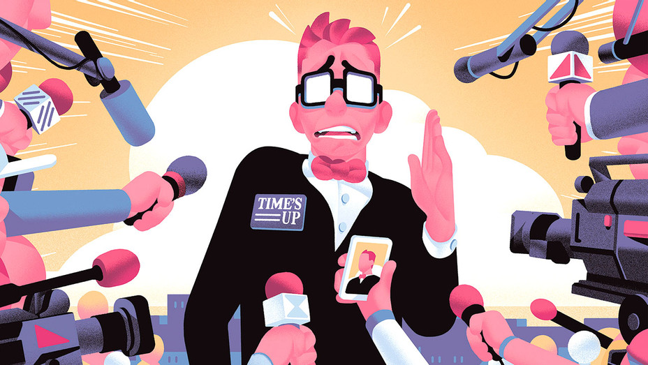 Hollywood Publicists' New Challenge -Time's Up Era-Illustration by Nicholas Dehghani-H 2018