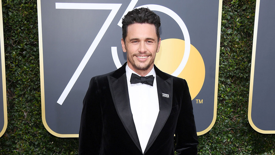 james franco Golden Globes - Getty - H 2018