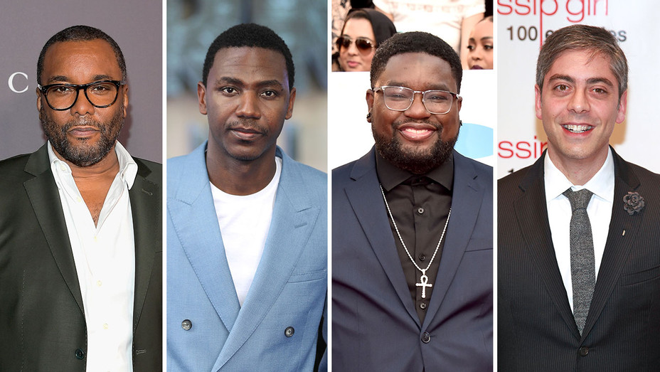 Lee Daniels, Jerrod Carmichael, Lil Rel and Josh Safran_Split - Getty - H 2018