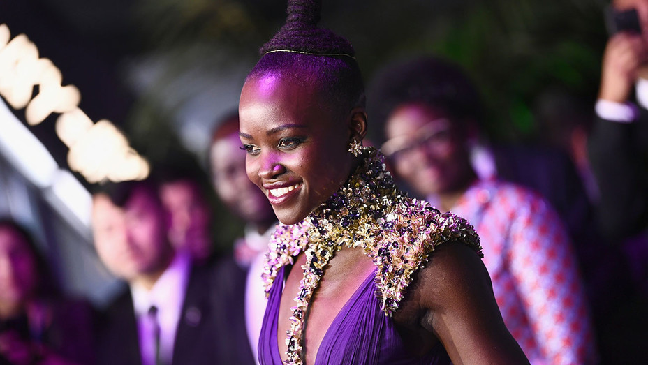 Lupita Nyong'o_Black Panther Premiere - Getty - H 2018