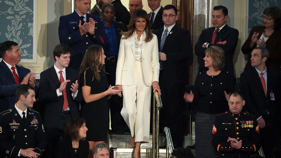 Melania Trump State of the Union - Getty - H 2018