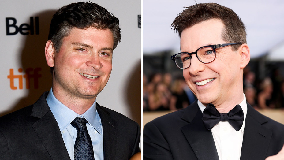 Mike Schur and Sean Hayes - Split - Getty - H 2018