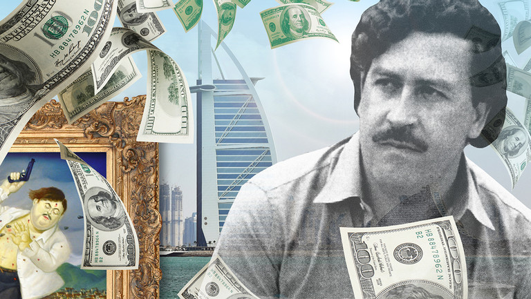 'Narcos' Goes East? A Dubai Art Dealer, Pablo Escobar's Brother and a Cache of Possibly Fake Art
