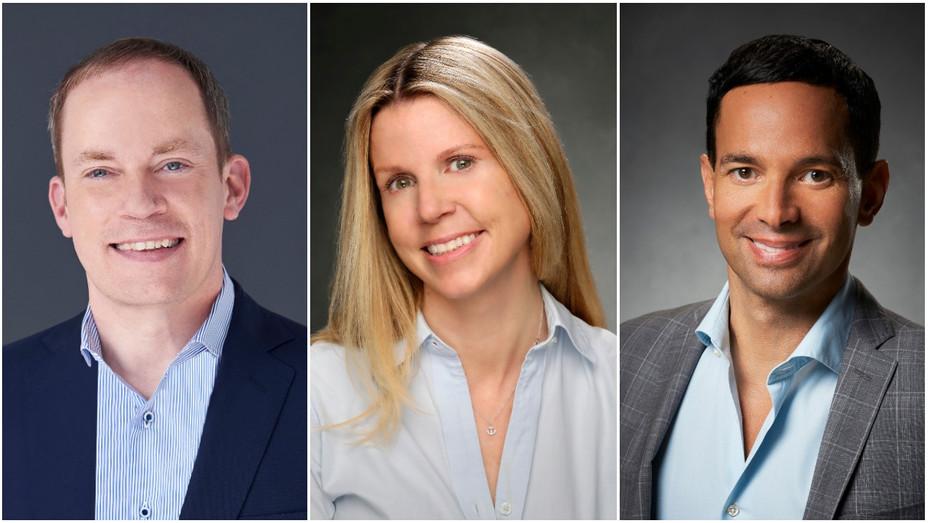 Bill McGoldrick, Dawn Olmstead and George Cheeks Split - Publicity - H 2018