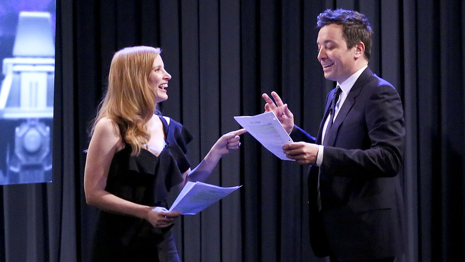 The Tonight Show Starring Jimmy Fallon Still Jessica Chastain - Publicity - H 2018