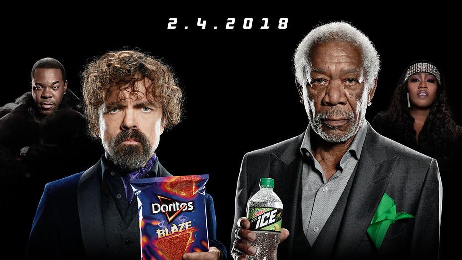 Peter Dinklage_Morgan Freeman Superbowl Ad - Publicity - H 2018
