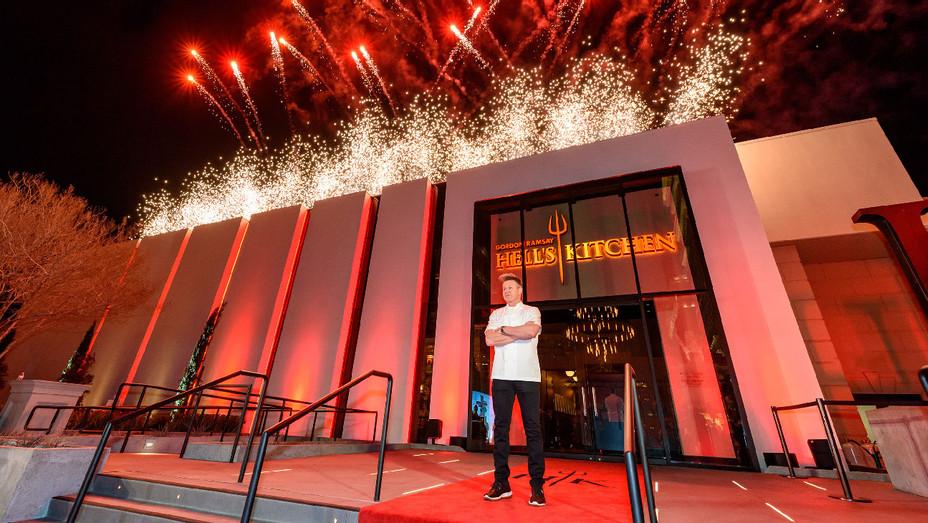Gordon Ramsay Hell's Kitchen Caesars Palace Las Vegas Opening - Publicity - H 2018