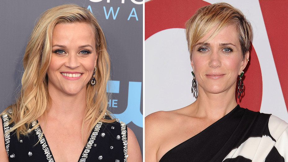 Reese Witherspoon and Kristen Wiig_Split - Getty - H 2018