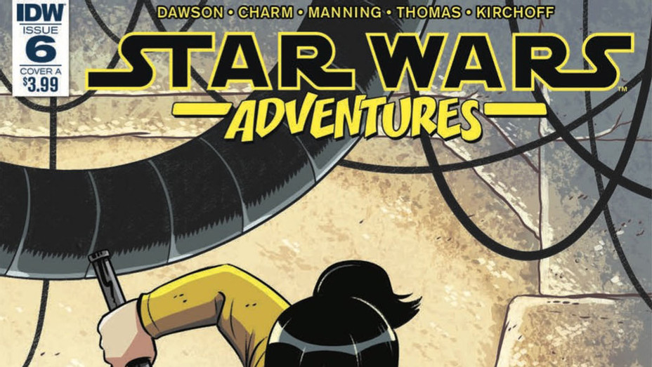 Star Wars Adventures Rose Knows Cover - Publicity - P 2018