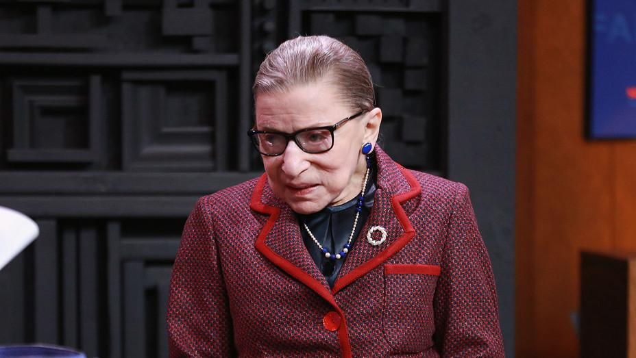 Ruth Bader Ginsburg_Sundance - Getty - H 2018
