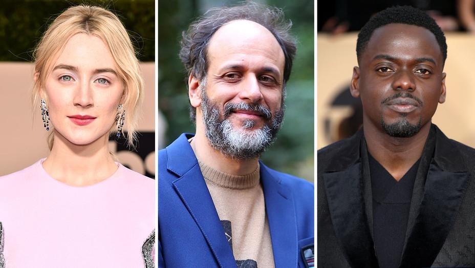 Saoirse Ronan, Luca Guadagnino, Daniel Kaluuya -Split-Getty-H 2018