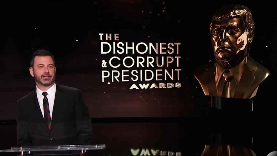 Jimmy Kimmel Live! Dishonest and Corrupt President Awards - Screenshot - H 2018