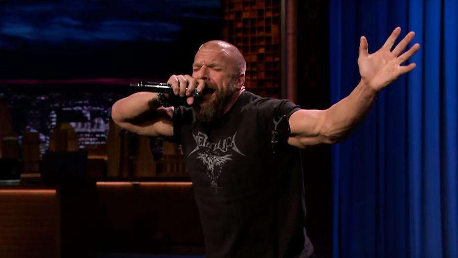 The Tonight Show Starring Jimmy Fallon Triple H  - Screenshot - H 2018