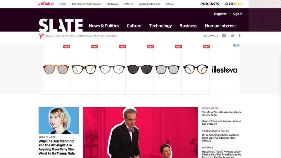 Slate Website - Screenshot - H 2018