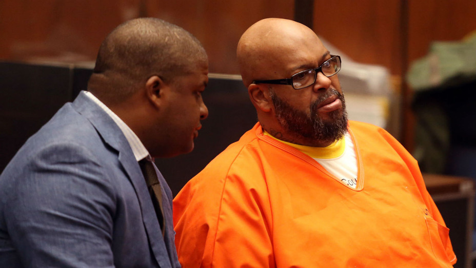 Thaddeus Culpepper and Suge Knight - Getty Images - H 2018