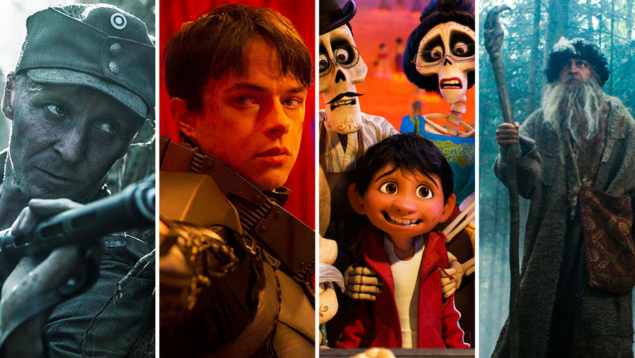 The Unknown Soldier, Valerian, Coco and The Last Warrior - Split - Publicity - H 2017