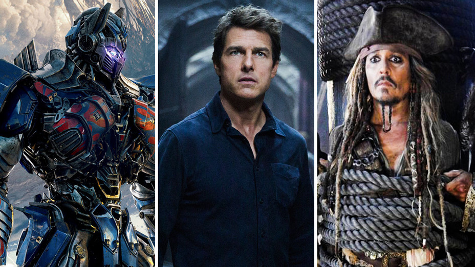 Transformers, Mummy and Pirates of the Caribbean Still - Split - Photofest - H 2018