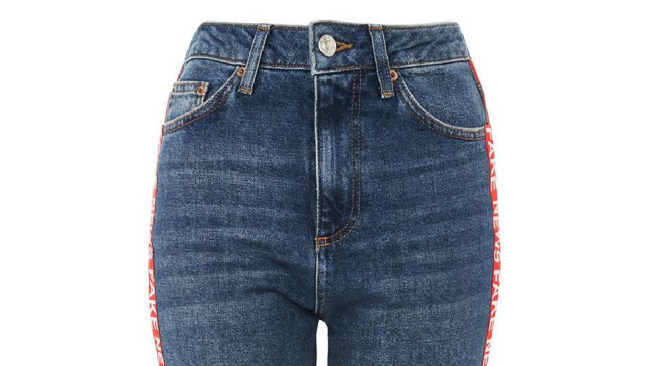 Topshop Fake News Jeans - Publicity - P 2018