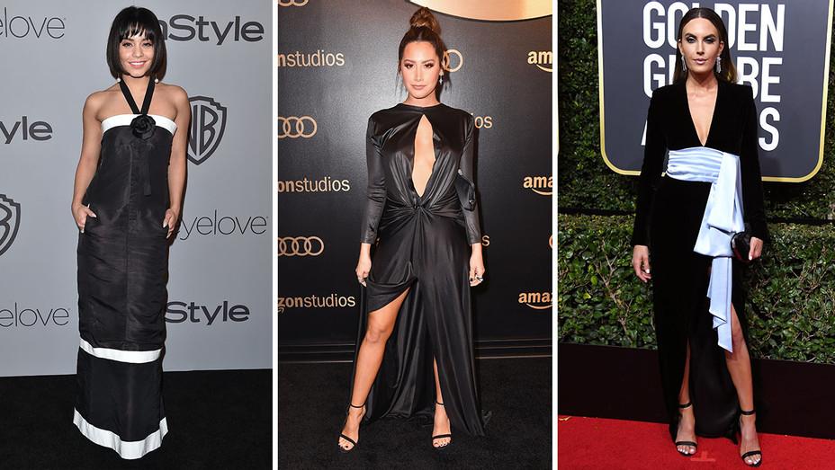 Vanessa Hudgens, Ashley Tisdale and Elizabeth Chambers_Split - Getty - H 2018
