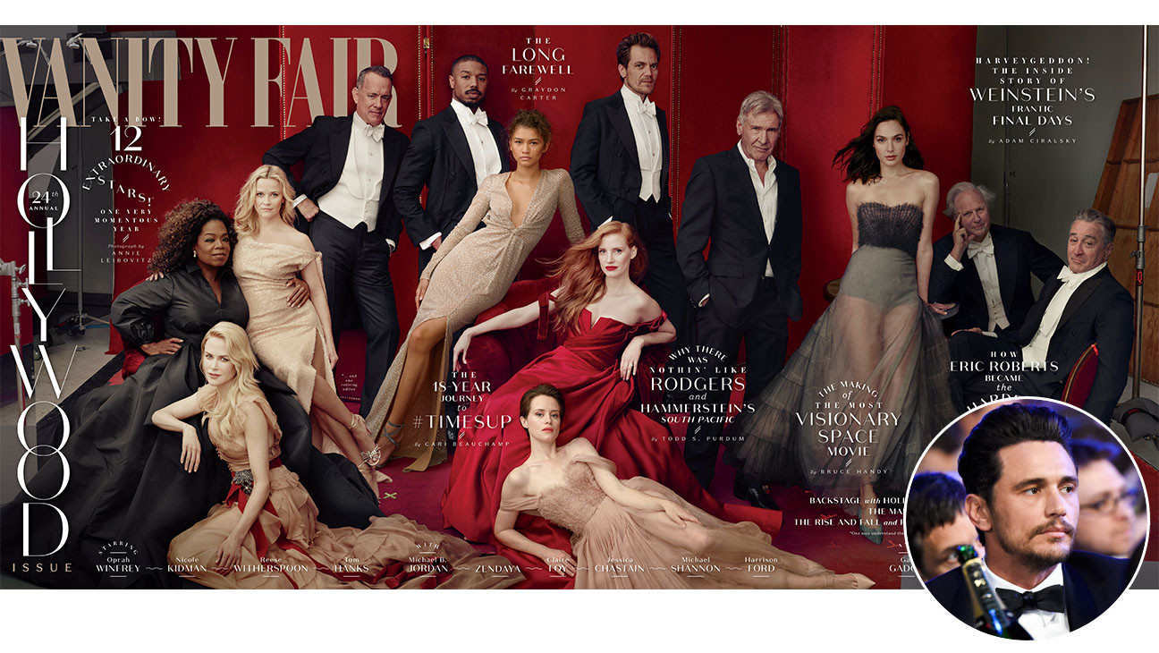 James Franco Was Scrubbed From Vanity Fair Hollywood Issue Cover Hollywood Reporter