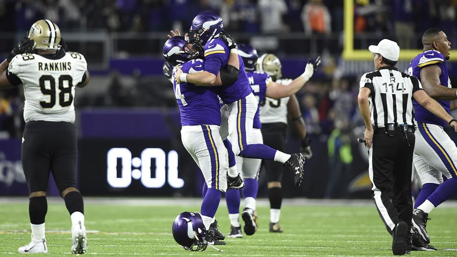 Vikings Win Over Saints - H Getty 2018