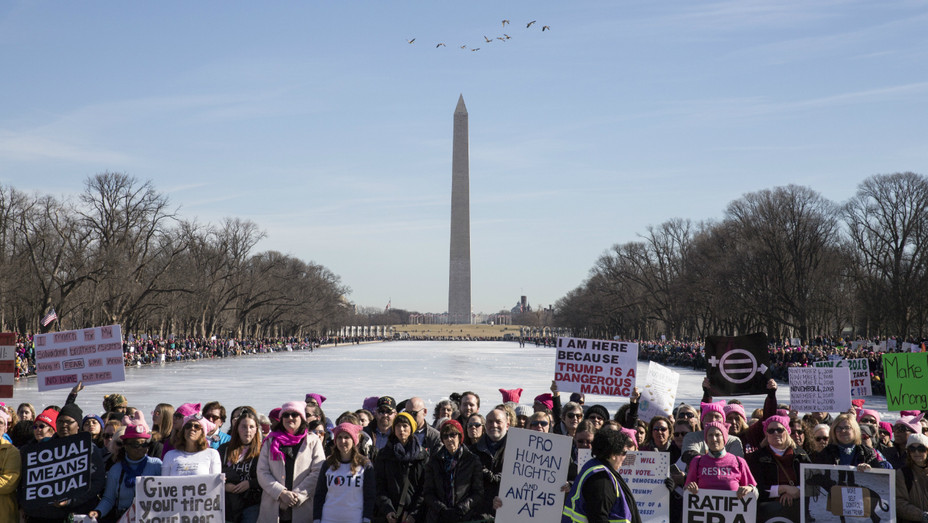 Washington DC Women's March - Getty - H 2018