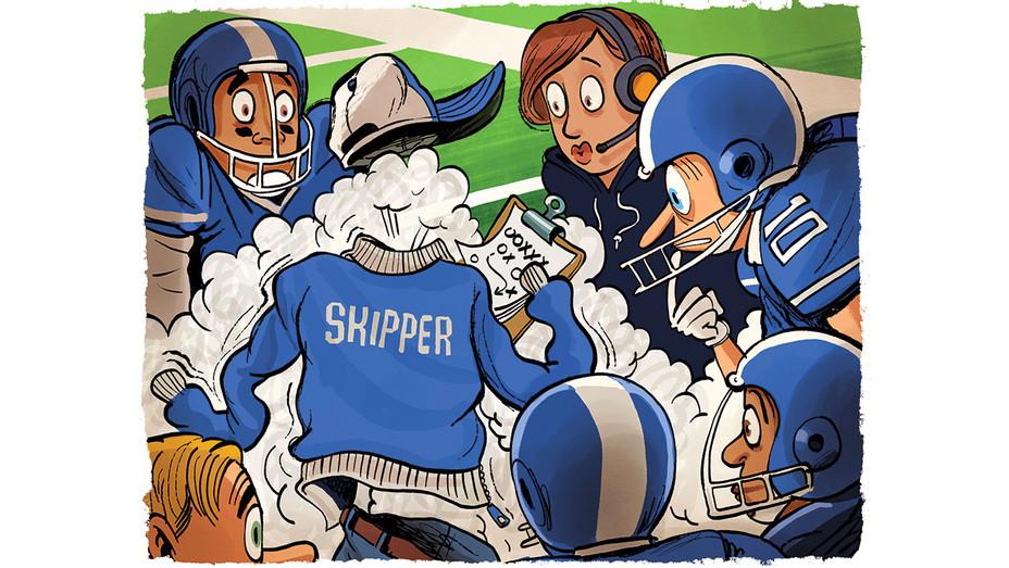Skipper Bolts Leaving ESPN  - Illustrations by Zohar Lazar - H 2017