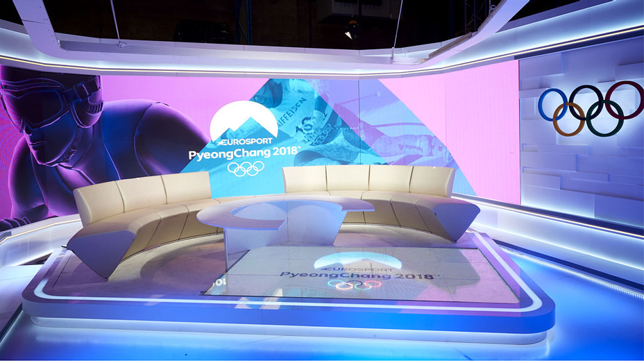 Pyeong Chang 2018 Eurosport - Main Studios- Publicity-H 2018