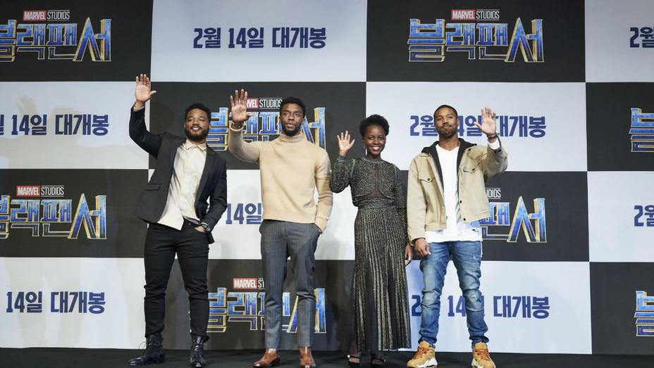 'Black Panther' Press Tour South Korea - Publicity - H 2018
