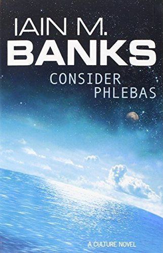 Iain M. Banks 'Consider Phlebas' Book Cover - Publicity - P 2018