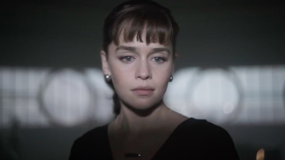 Emilia Clarke - Solo A Star Wars Story Super Bowl TV Spot - H 2018