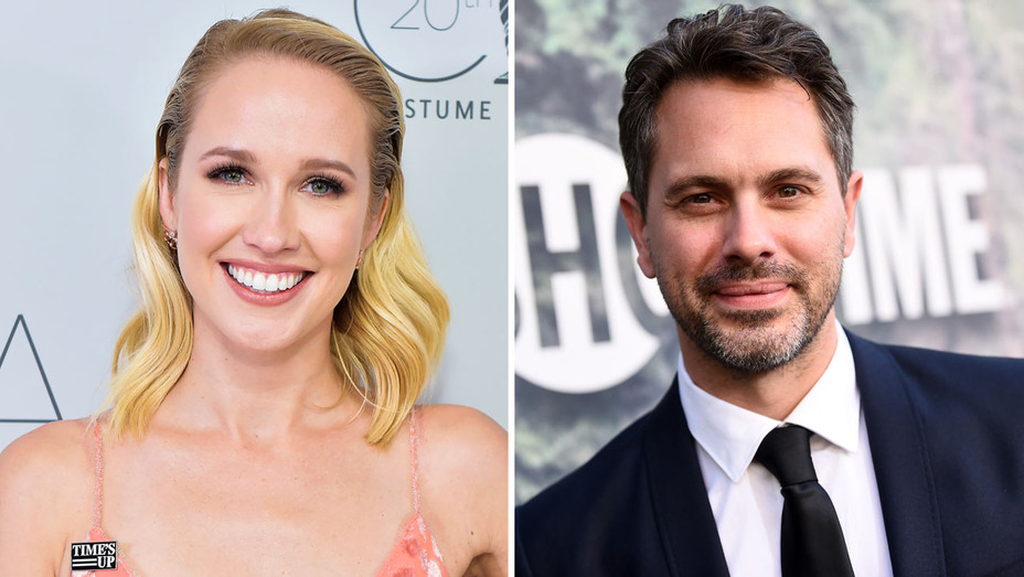 Anna Camp and Thomas Sadoski - Split - Getty - H 2018