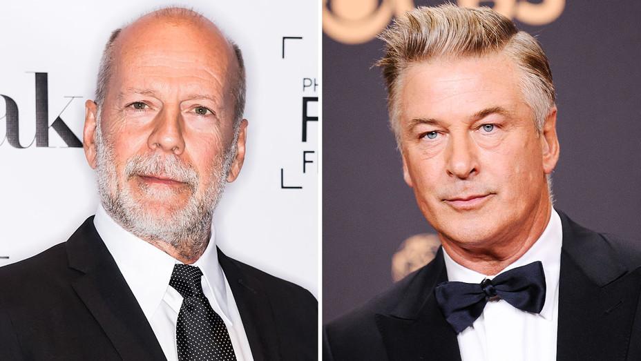 Bruce Willis and Alec Baldwin - Split - Getty - H 2018