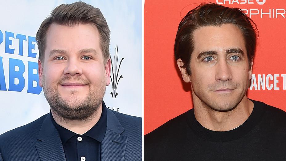 James Corden Jake Gyllenhaal Split - Getty - H 2018