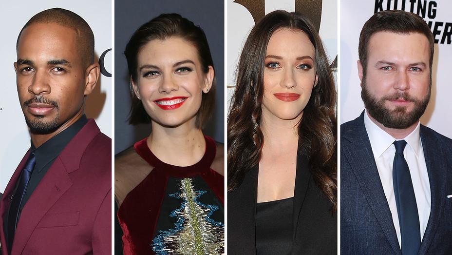 Damon Wayans Jr., Lauren Cohan, Kat Dennings, and Taran Killam_Split 2 - Getty - H 2018