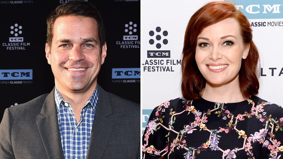 Dave Karger and Alicia Malone - Split-Getty-H 2018