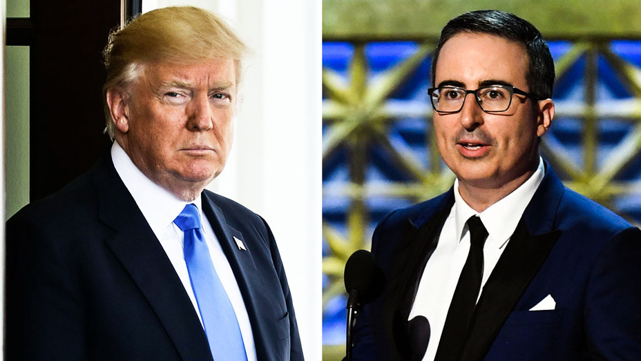 Donald Trump and John Oliver - Split - Getty - H 2018