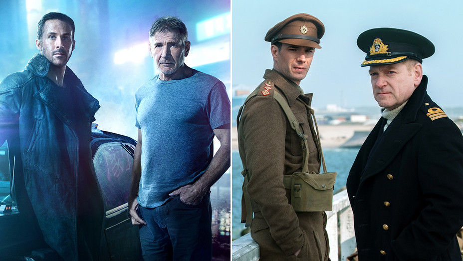 Blade Runner 2049 Dunkirk Split - ONE TIME USE ONLY - H Publicity 2018