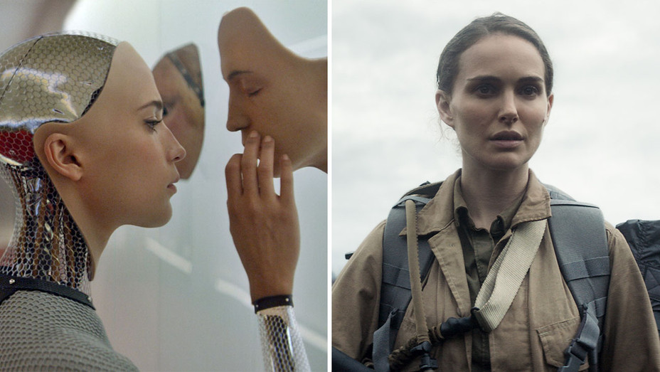 Ex Machina and Annihilation_Split - Publicity - H 2018