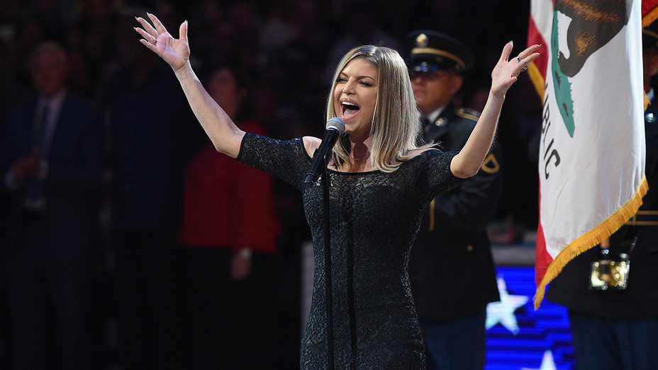 Fergie NBA All-Star Game - H Getty 2018