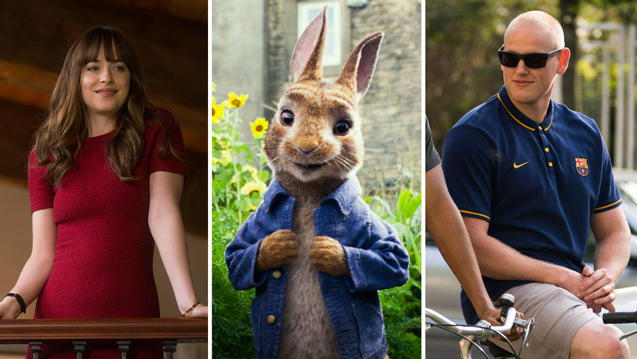 Fifty Shades Freed, Peter Rabbit and 15:17_ Split_2 - Publicity - H 2018