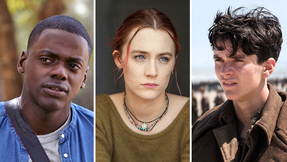 Get Out, Lady Bird and Dunkirk- Split-Publicity-H 2018